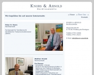 Website Dr.E. Morgenroth, H. Heublein,P. Knors u. W. Arnold