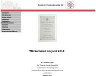 Bild Webseite Engler G. Dr. , Fraatz-Rosenfeld T. Dr. , Horn M. u. Röder T. Rechtsanwälte Hamburg
