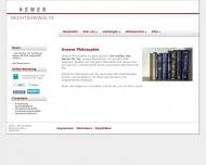 Website Hewer u. Kollegen Rechtsanwaltskanzlei