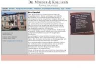 Bild Webseite Mörder Dr. Heinz Freiburg im Breisgau