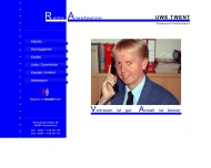 Bild Webseite Twent Uwe Rechtsanwalt Osnabrück