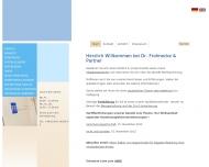 Bild Webseite Frohnecke Eberhard Osnabrück