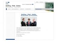 Bild Rohlfing Bernd Prof. Dr. und Pfahl Franc Dr. und Oettler Frank Dr. Rechtsanwälte
