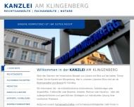Bild Webseite Rechtsanwalt Gerrit Koch Lübeck