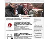 Bild Webseite Rechtsanwalt Christoph Lotz Bochum