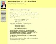 Bild Enderlein Fritz Prof. Dr. Rechtsanwalt
