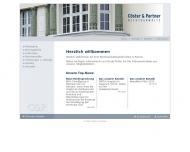 Bild Webseite Cöster Dr. Enno Nürnberg