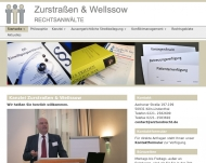Bild Webseite Zurstraßen Arno , Wüstefeld Michael Rechtsanwälte Köln