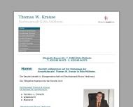 Bild Rechtsanwalt Thomas W. Krause