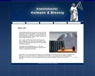 Anwaltskanzlei Hofmann Breunig - ?ber uns