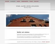 Website Rechtsanwälte Stark, Mayer, Hehr & Kollegen