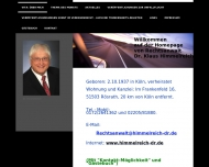 Bild Webseite Himmelreich Klaus Dr. Rechtsanwalt Rösrath