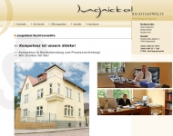 Bild Webseite Jungnickel Reiner Anwaltskanzlei Tangerhütte