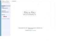Website Rau & Rau
