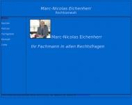 Bild Webseite Rechtsanwalt Marc-Nicolas Eichenherr Hamburg
