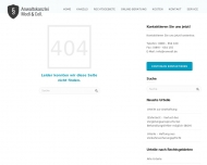 Bild Webseite Rechtsanwälte Modl München