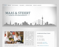 Bild Webseite Maas & Steiert Düsseldorf