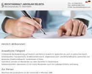 Bild Webseite Delekta Jaroslaw Berlin
