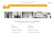 Bild Webseite Linderhaus, Stabreit & Langen Rechtsanwälte Düsseldorf