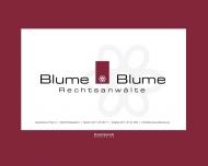 Bild Webseite Blume & Blume Rechtsanwälte Düsseldorf