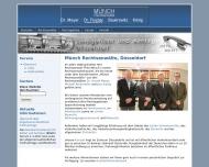 Bild Webseite Rechtsanwälte Münch, Dr. Meyer, Dr. Fischer, Baukrowitz Düsseldorf