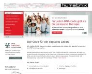 Bild Webseite Humatrix Aktiengesellschaft Frankfurt