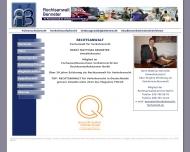 Bild Webseite Rechtsanwalt Horst Matthias Benneter Berlin