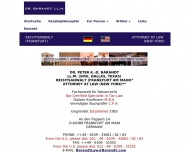 Bild Barandt Peter K.-D. Dr.iur. LL.M. Rechtsanwalt Attorney at Law (New York)