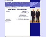 Website Procher Wolfgang , Barzantny Joachim Rechtsanwälte