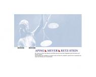 Bild Webseite Aping, Meyer, Retz-Stein Berlin