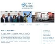 Rechtsanwalt in Potsdam - Kanzlei Gasch Gr?tz