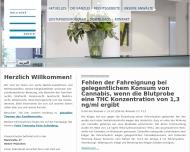 Bild Webseite Dollinger Richter Köllner Kleinherne, Partnerschaft München