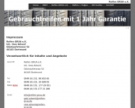 Website Regaad Reifenhandel