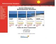 Bild Webseite Weltenbummler Reisebüro Inh. K. Höchel Tangerhütte