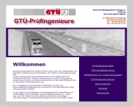 Bild Webseite Krüger und Partner Inh. Dipl.-Ing. Liebert Sachverständige für KFZ-Wesen Berlin