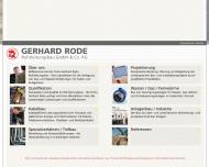 Bild Gerhard Rode Verwaltungsgesellschaft mit beschränkter Haftung