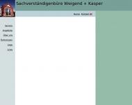 Bild Webseite Sachverständigenbüro Weigend + Kasper Berlin