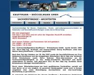 Bild Webseite Knuffmann Georg vereid. Sachverständiger Berlin