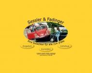 Bild Webseite KFZ-Sachverständige Sessler & Fadinger München