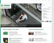Website DEKRA Automobil