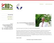 Bild Webseite Dejakum Rudolf Ingenieur & SV Büro Dresden