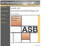 Bild Arbeitsgemeinschaft der Sachverständigen für das Bauwesen ASB