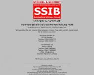 Bild Webseite Stöckel Dirk Sachverst. Bauwerkserhaltung Dresden