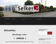 Bild Webseite Kfz.-Sachverständigenbüro Dipl.-Ing. Selker Aachen