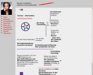 Bild Webseite Gundelach Dipl.-Volksw. Renée Berlin