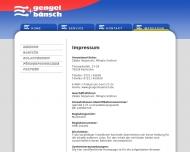 Website Gengel & Bänsch