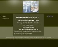 Bild Webseite  Sylt-Ost