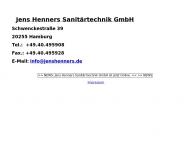 Bild Henners Jens Sanitärtechnik GmbH