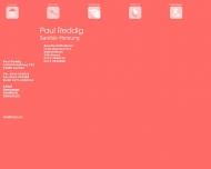 Website Paul Reddig