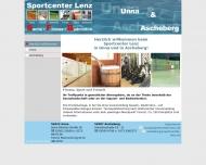 Bild Webseite Lenz Squash Ascheberg